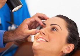 Consulta por infección en los ojos